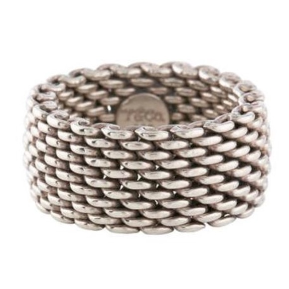 bc9e8d6e7 Tiffany & Co. Jewelry | Tiffany Luxury Retired Somerset Metallic ...